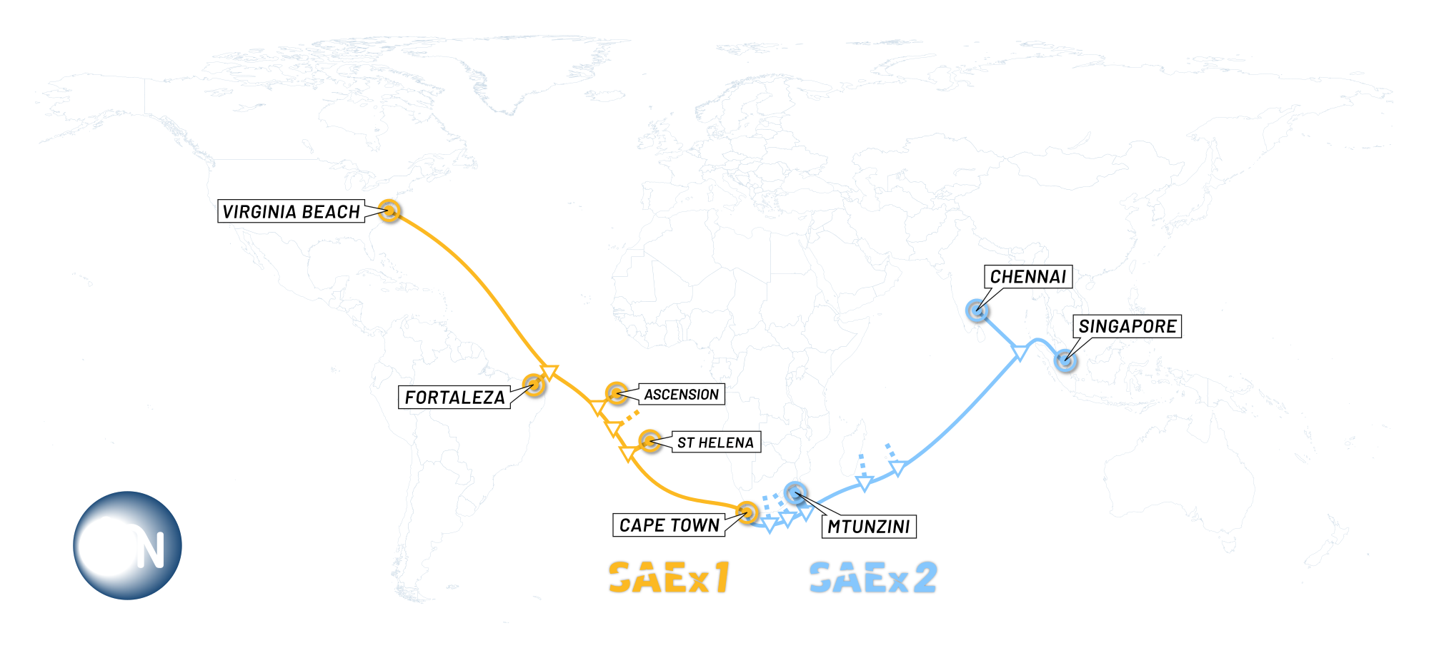 SAEx and Alcatel Submarine Networks Begin Survey for a New